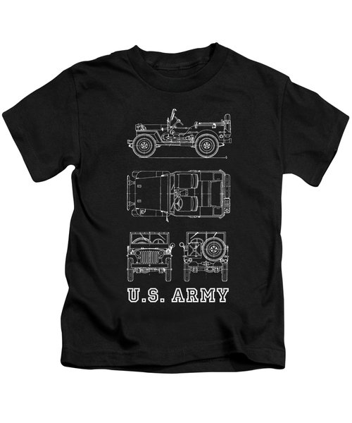 The Willys Jeep Kids T-Shirt
