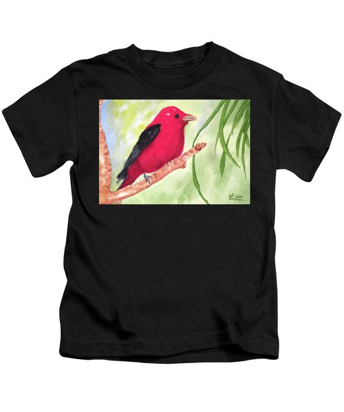 Theodore Tanager Kids T-Shirt