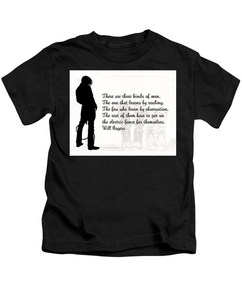 There Are Three Kinds Of Men Kids T-Shirt