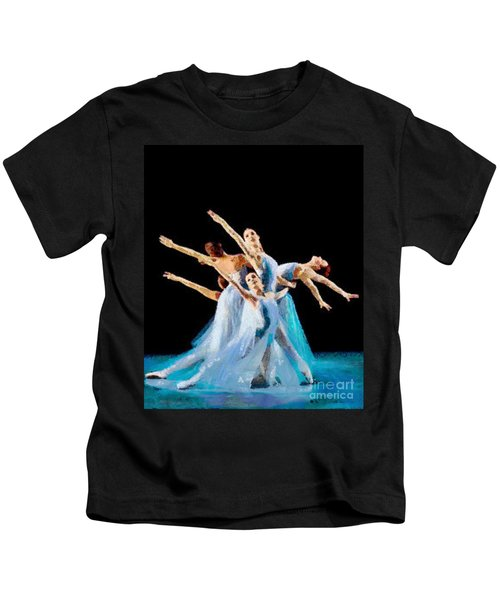 They Danced Kids T-Shirt