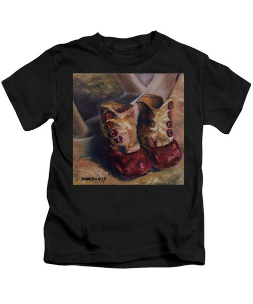 They Walked And Walked And Walked Kids T-Shirt