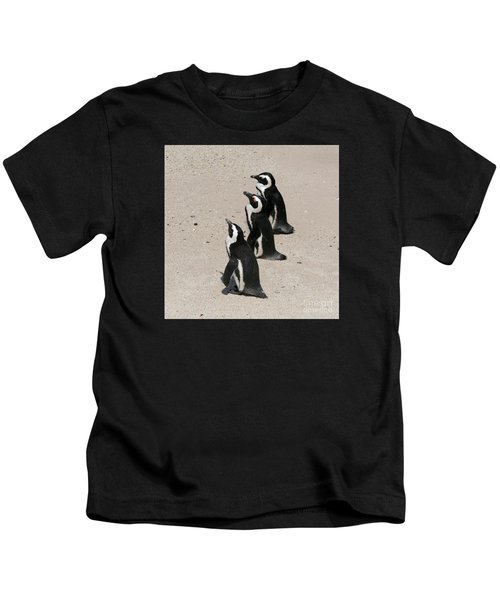 Three African Penguins Kids T-Shirt