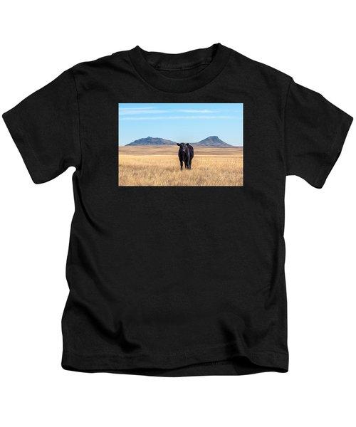 Three Buttes Steer Kids T-Shirt