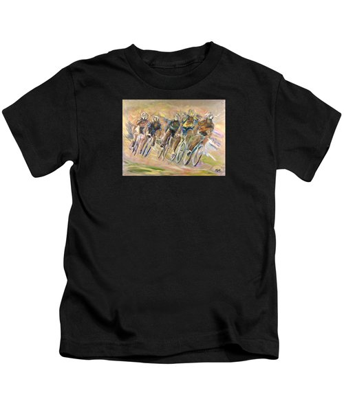 Thrill Of The Chase Kids T-Shirt