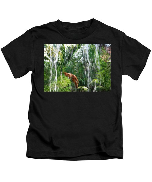Through The Waterfall Kids T-Shirt