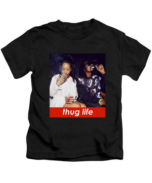 Thug Life Kids T-Shirt by Bruna Bottin