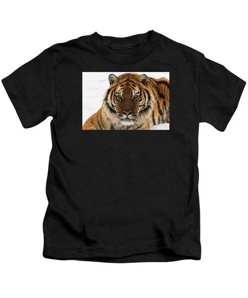 Tiger Stare Kids T-Shirt