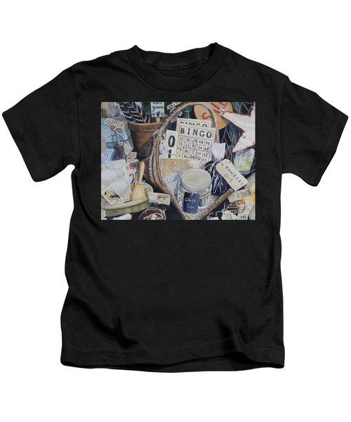 Time Travel   Original Kids T-Shirt