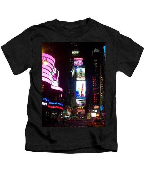 Times Square 1 Kids T-Shirt