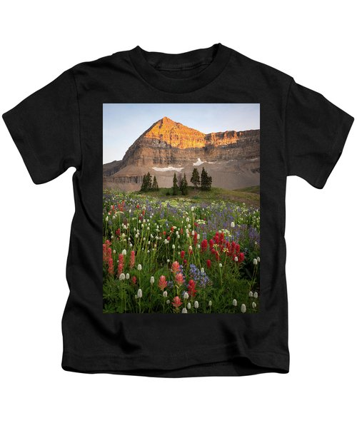 Timpanogos Bouquet Kids T-Shirt