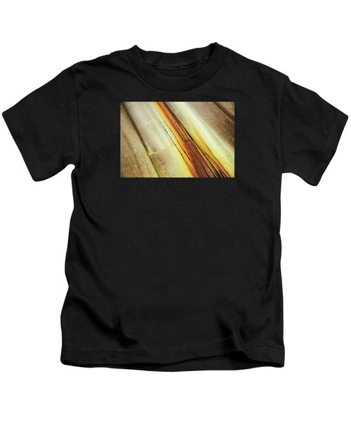 Tin Roof Abstract Kids T-Shirt