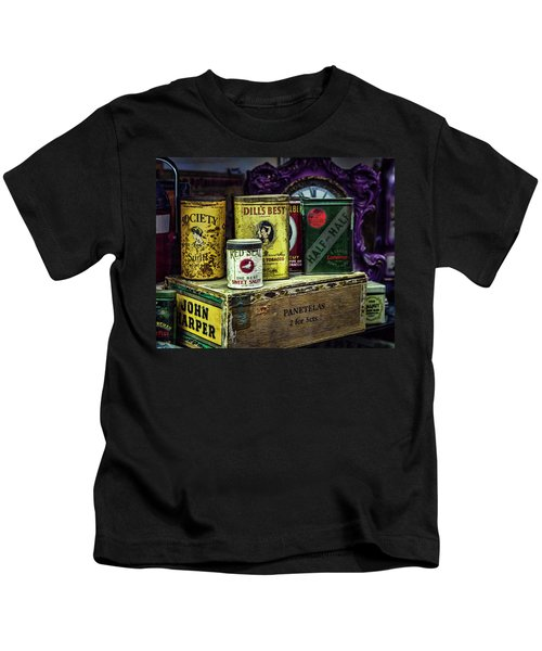 Tinned Tobacco Kids T-Shirt