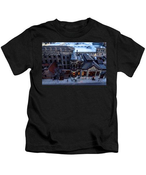 Tiny Pabst Castle Kids T-Shirt