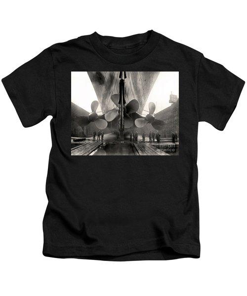 Titanic's Propellers  Kids T-Shirt