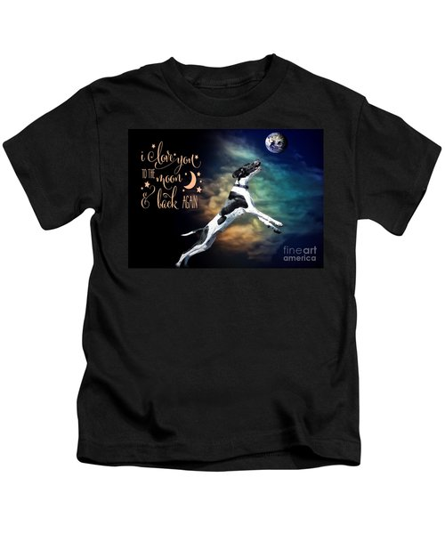 To The Moon Kids T-Shirt