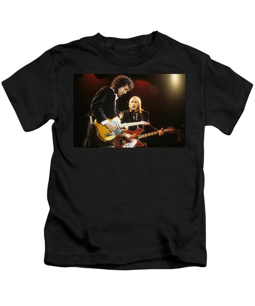 Tom Petty And Mike Campbell Kids T-Shirt