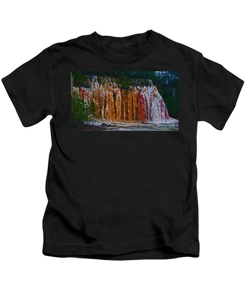 Tombs Land Formation Kids T-Shirt