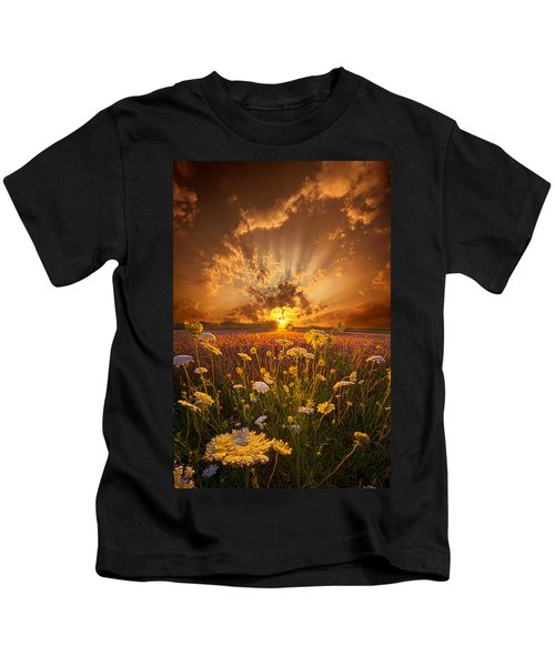 Tomorrow Is Just One Of Yesterday's Dreams Kids T-Shirt