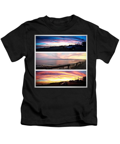 Took The Scenic Route Home From Work Kids T-Shirt
