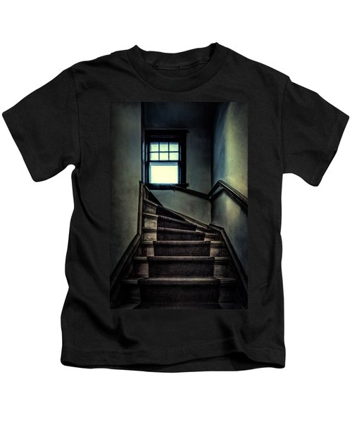 Top Of The Stairs Kids T-Shirt