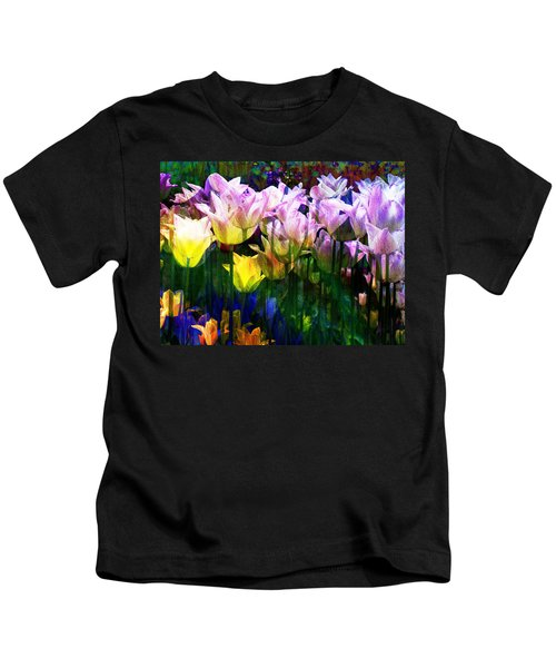 Totally Tulips Kids T-Shirt