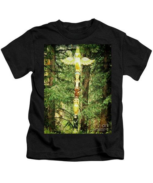 Totem Pole Kids T-Shirt