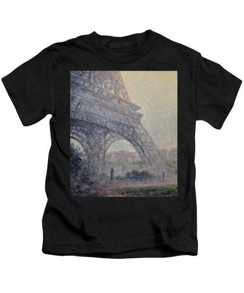 Paris , Tour De Eiffel  Kids T-Shirt