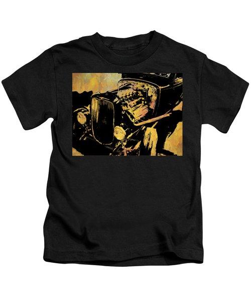 Traditional Hemi Rust Kids T-Shirt