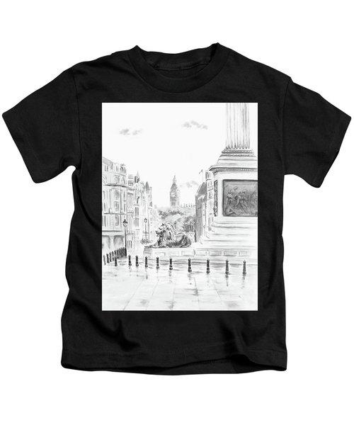 Trafalgar Square II Kids T-Shirt