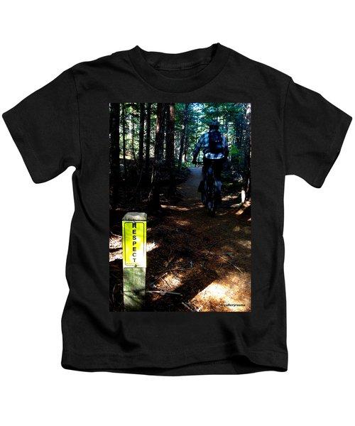Trail Respect Kids T-Shirt