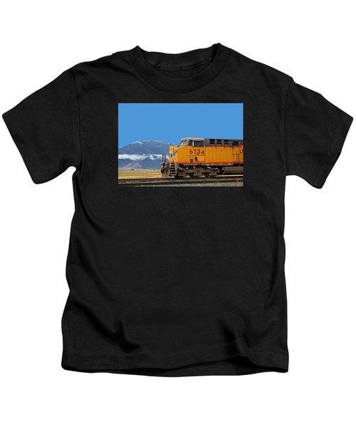 Train In Oregon Kids T-Shirt