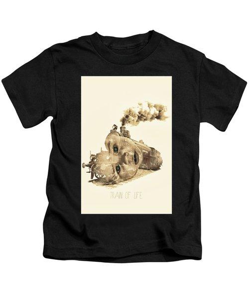 Train Of Life Kids T-Shirt