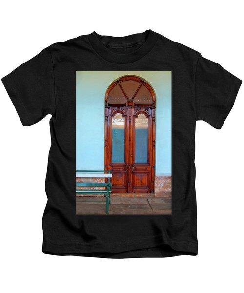 Train Station Portal Maputo Kids T-Shirt