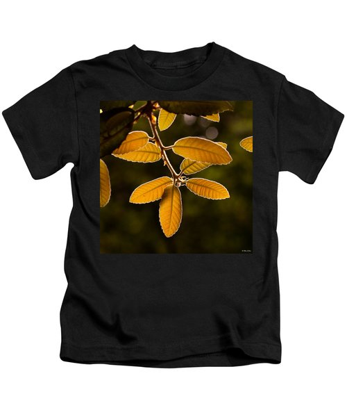 Translucent Leaves Kids T-Shirt