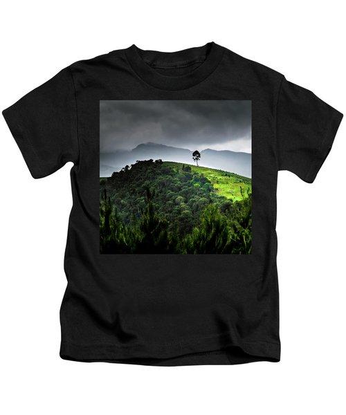Tree In Kilimanjaro Kids T-Shirt
