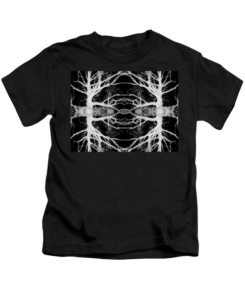Tree Kaleidescope  Kids T-Shirt