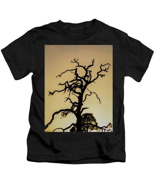 Tree Silhouette Kids T-Shirt