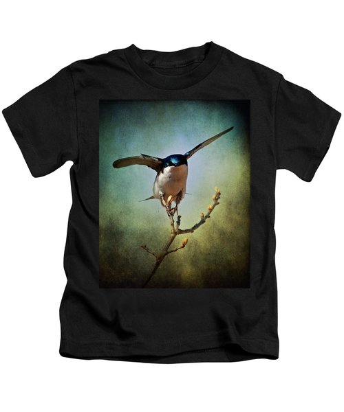 Tree Swallow 2 Kids T-Shirt
