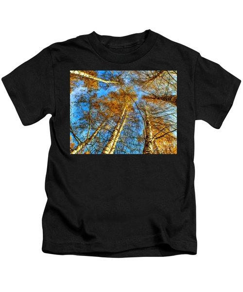 Trees Grow To The Sky Paint Kids T-Shirt