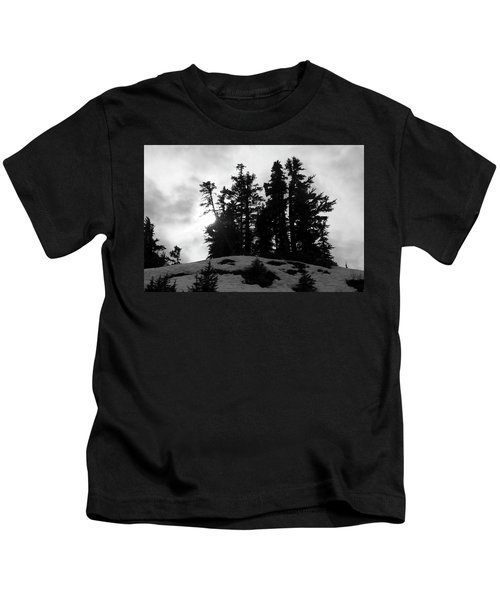 Trees Silhouettes Kids T-Shirt