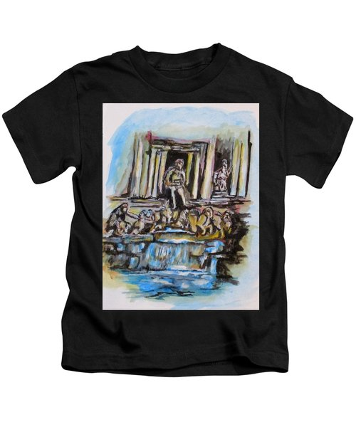 Trevi Fountain, Rome Kids T-Shirt