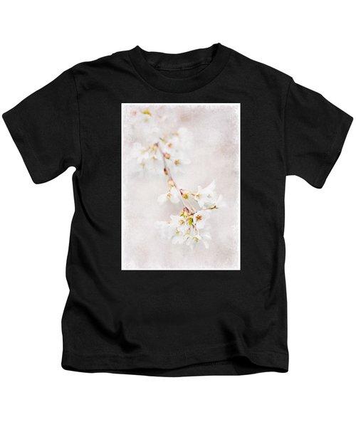Triadelphia Cherry Blossoms Kids T-Shirt