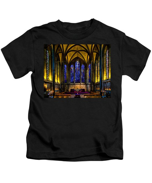 Trinity Chapel Salisbury Cathedral Kids T-Shirt