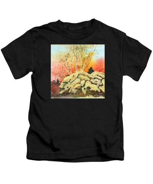 Triptych Panel 2 Kids T-Shirt