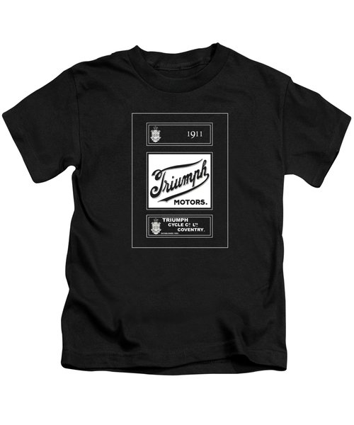 Triumph 1911 Kids T-Shirt by Mark Rogan