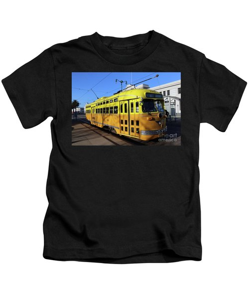 Trolley Number 1052 Kids T-Shirt