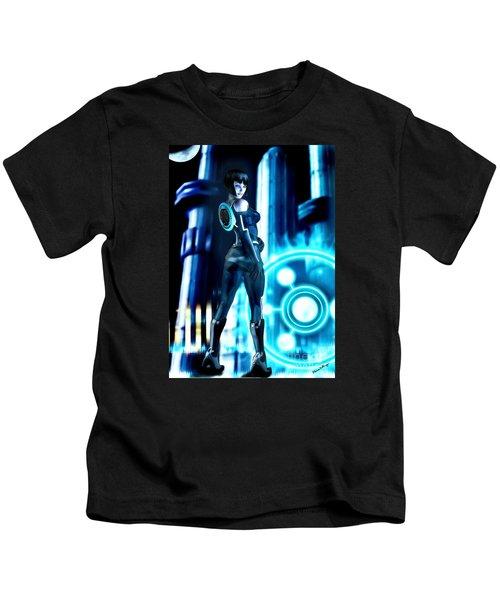 Tron Quorra Kids T-Shirt