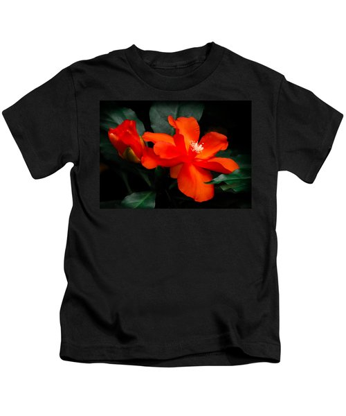 Tropical Elegance Kids T-Shirt