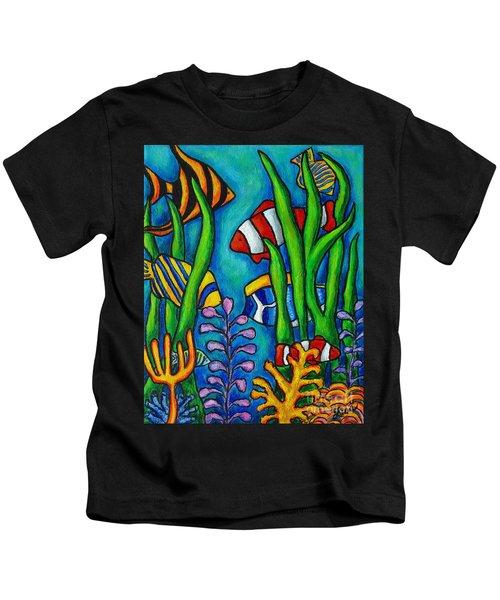 Tropical Gems Kids T-Shirt