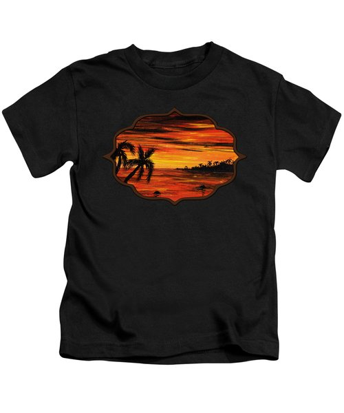 Tropical Night Kids T-Shirt